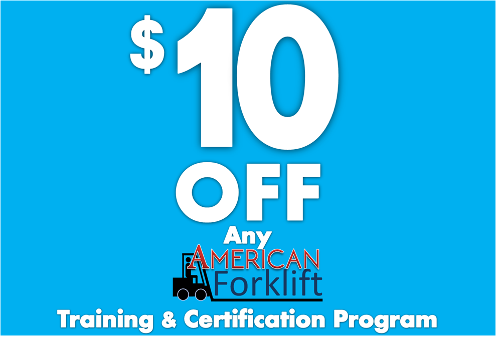 Us Forklift Certification Coupon Alphabet Signs Coupons