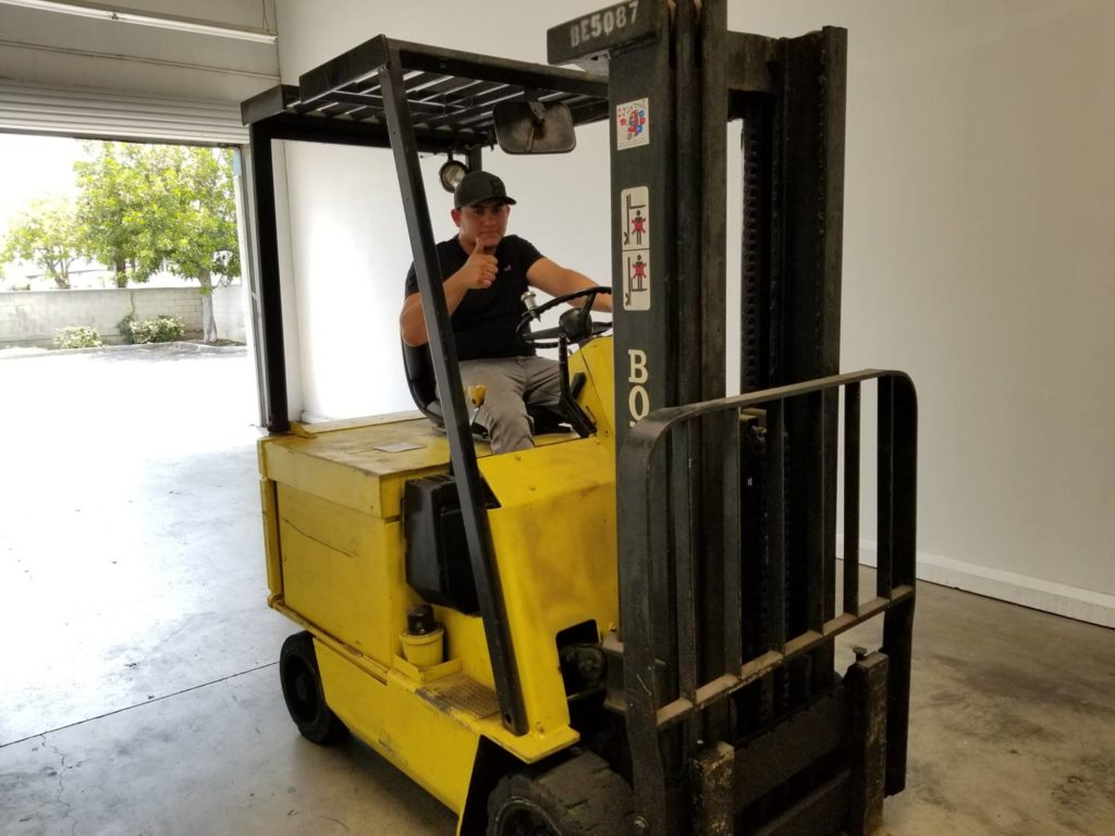 Los Angeles Forklift Certification Sitdown Stand Up Reach