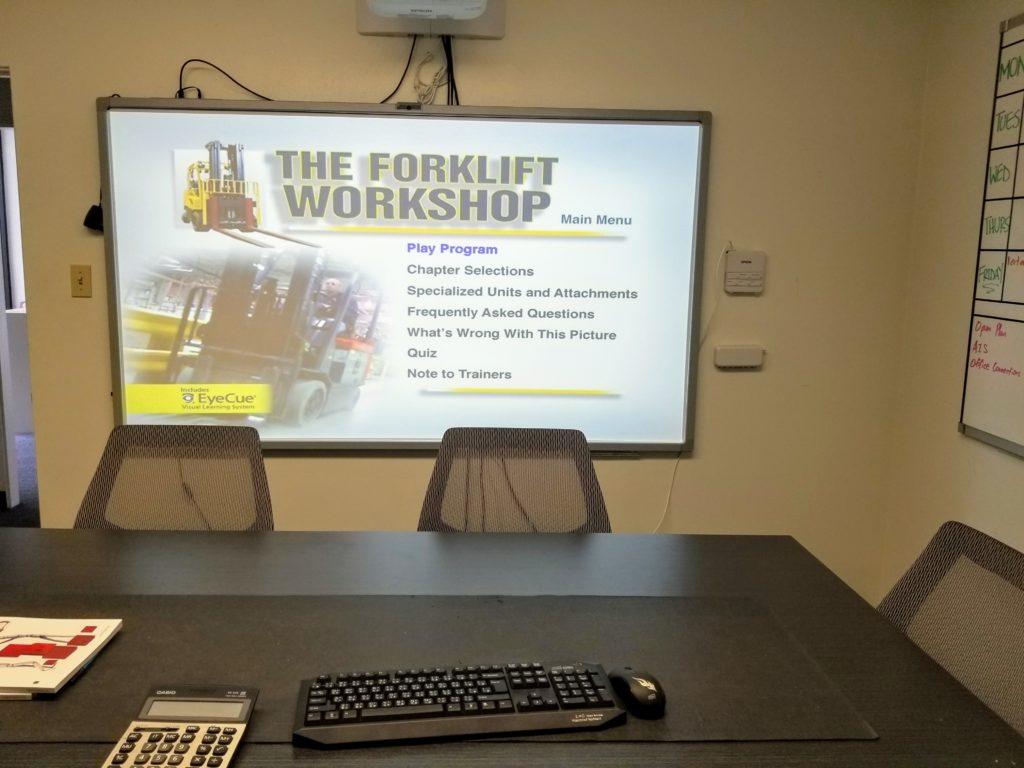 Onsite Forklift Certification