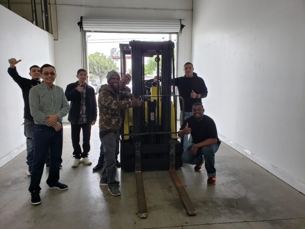 Los Angeles Forklift Training